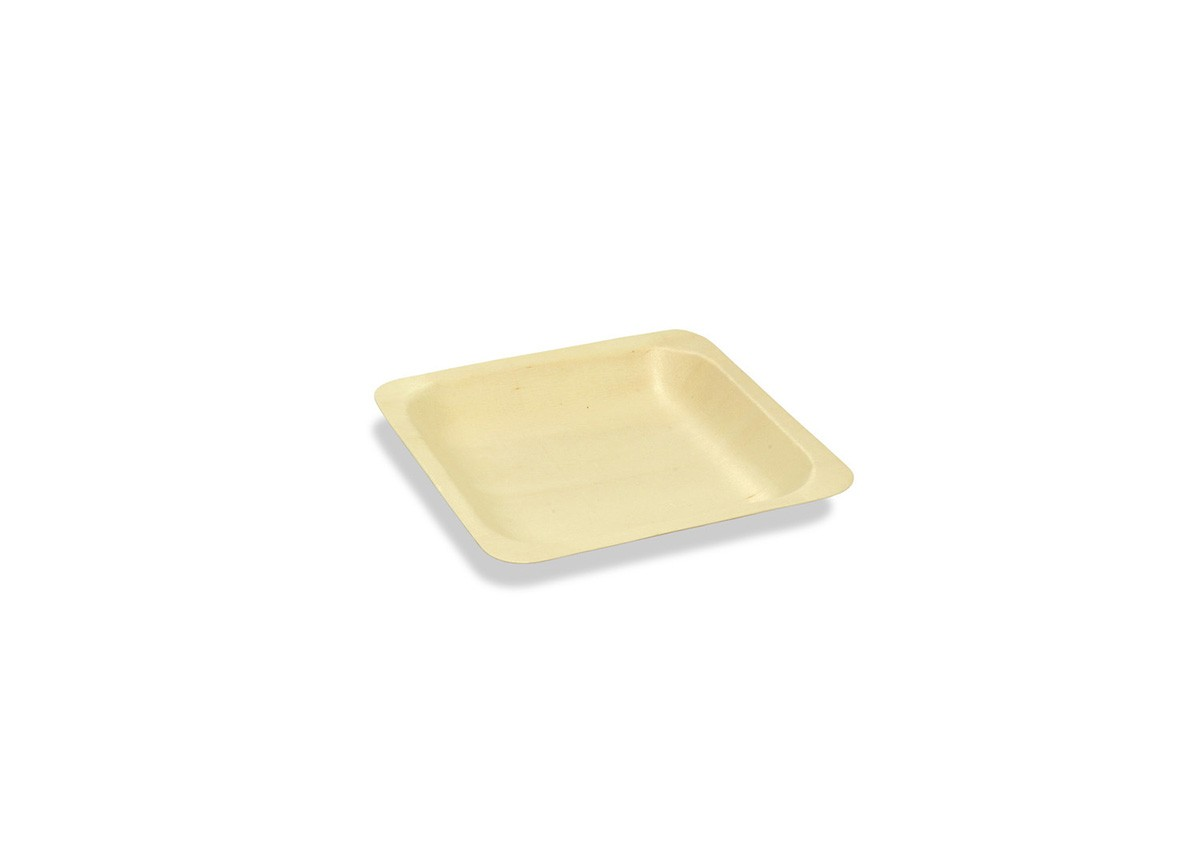 "4.5"" Square Servewise Plate"