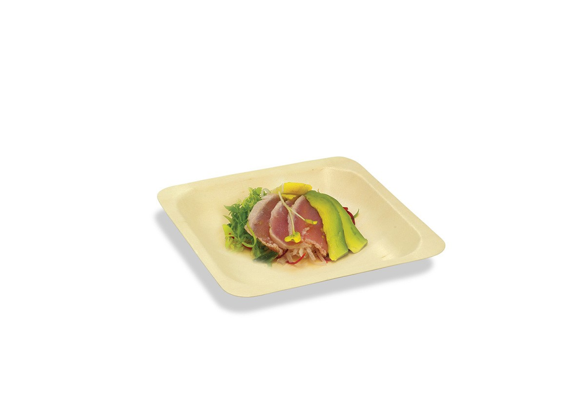 "5.5"" Square Servewise®  Plate"