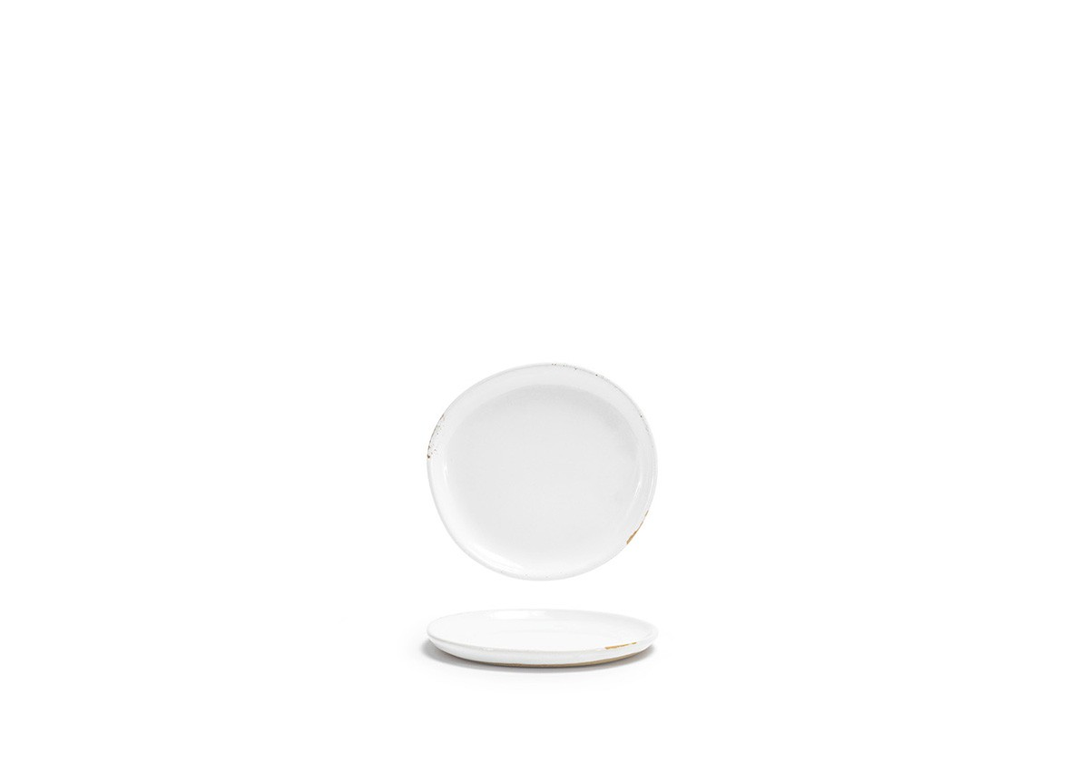 "6"" Round Artefact™ Plate - White"