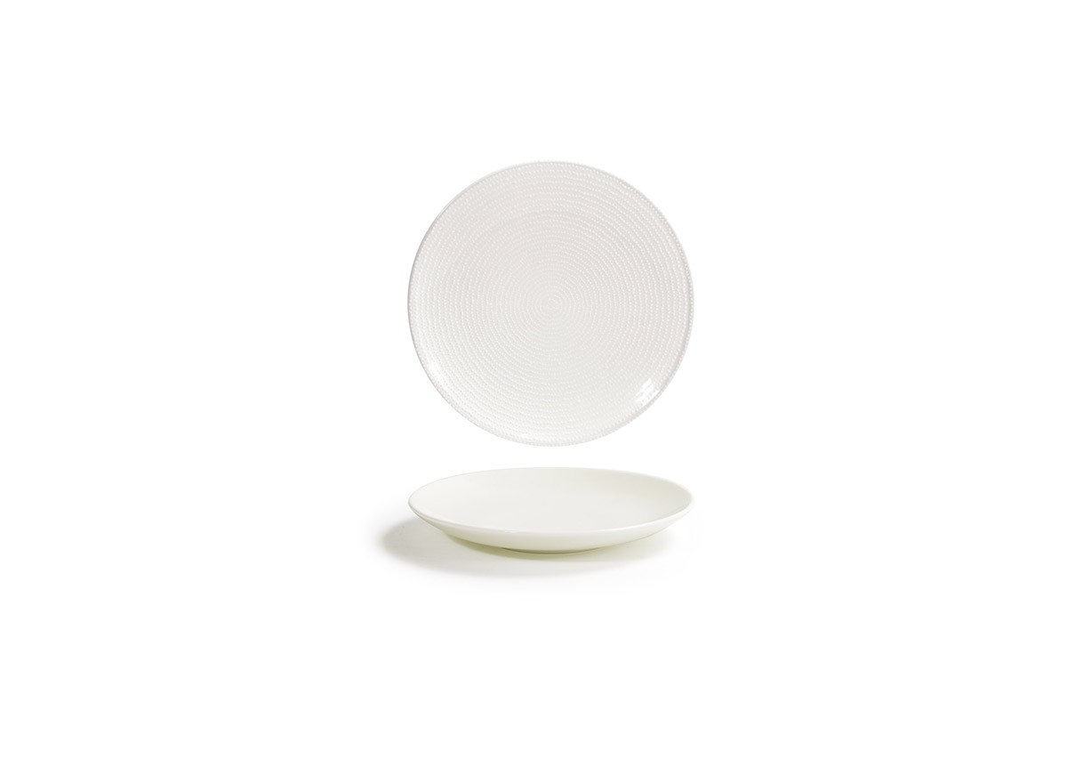 "6.25"" Round Catalyst Coupe Plate - Pearl"