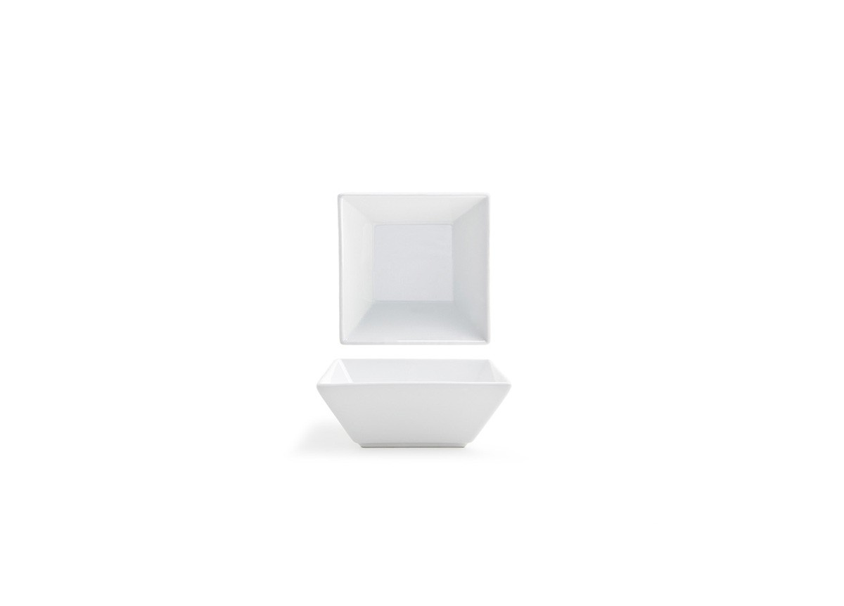 "5.5"" Square Kyoto Bowl - White"