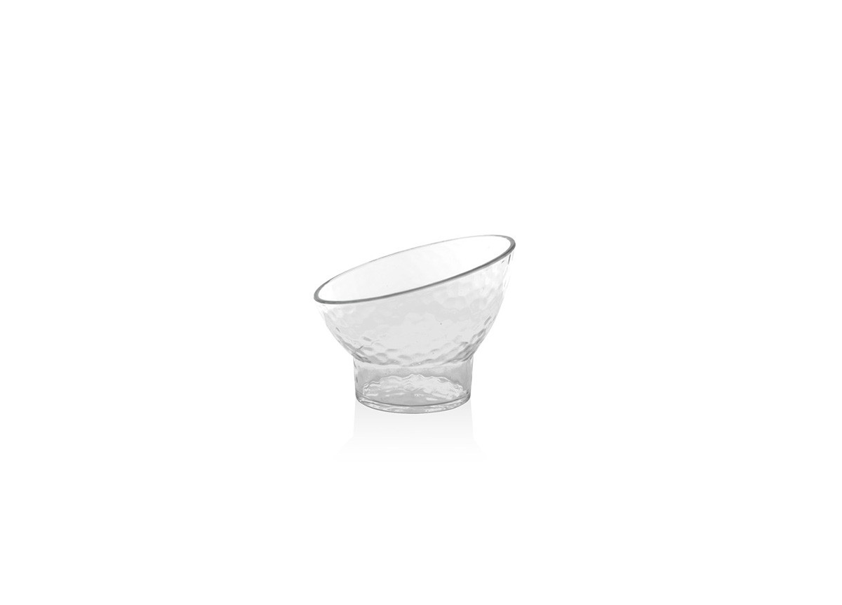 "4.5"" Round Drinkwise®  Slanted Footed Bowl - 8oz"