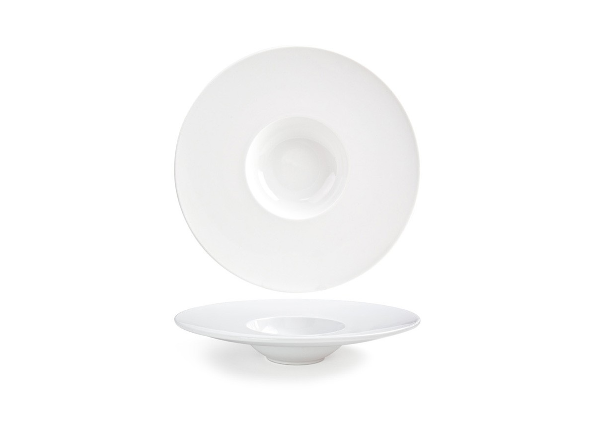 "11.5"" Round Wide Rim Monaco Bowl - 7oz"