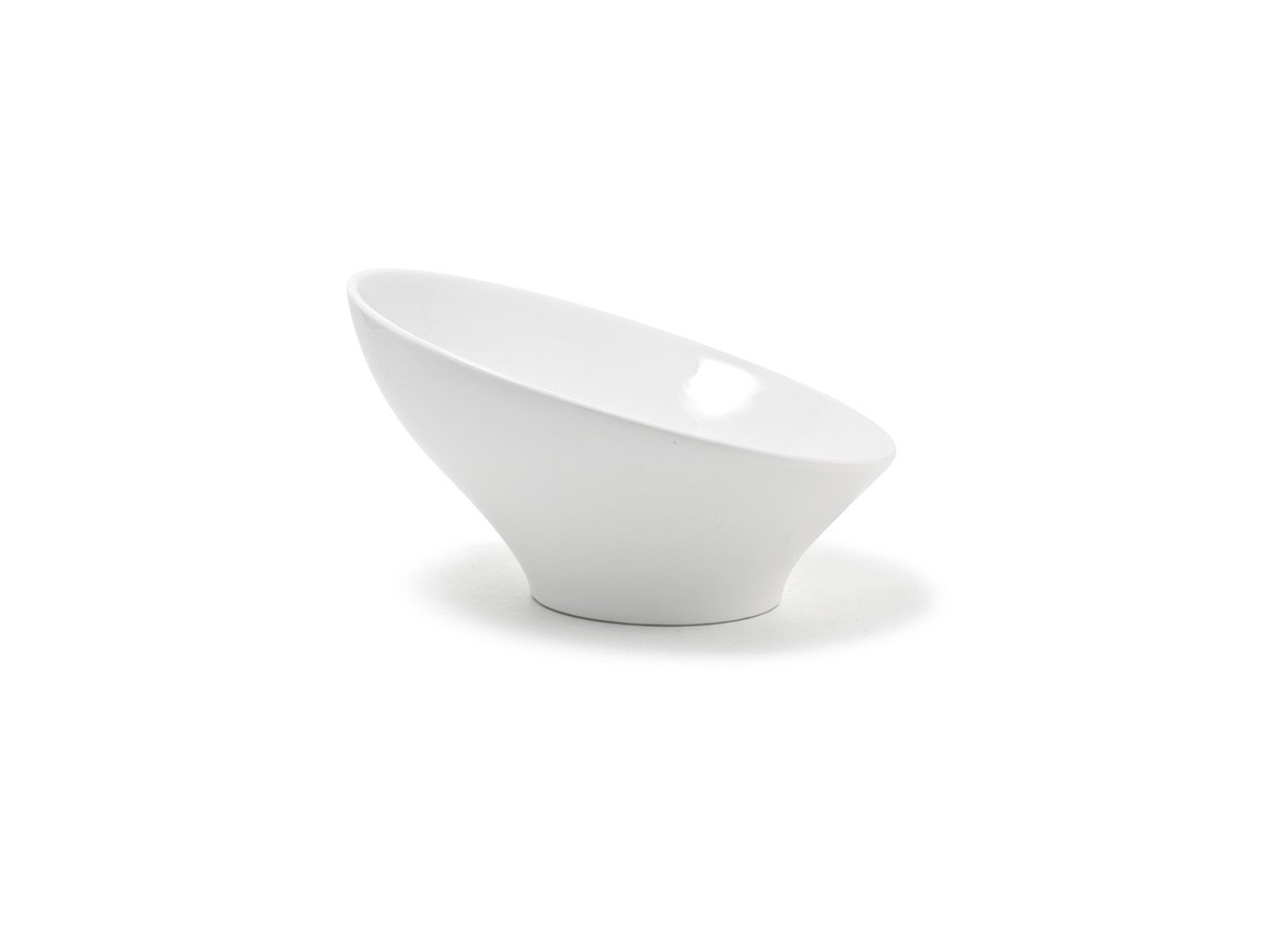 "9"" Round Slanted Bowl - 32oz"