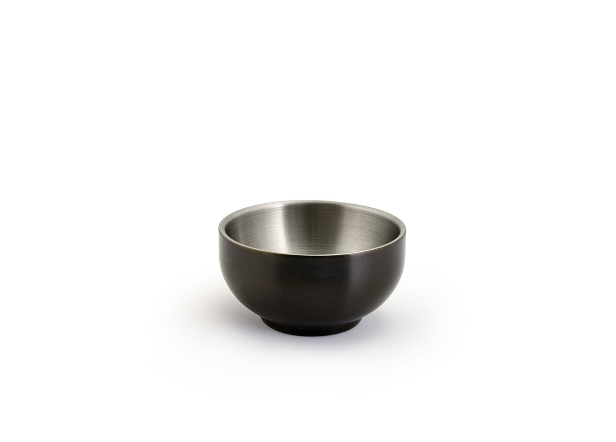 6oz Round Brushed Stainless Harmony™  Bowl - Matte Black