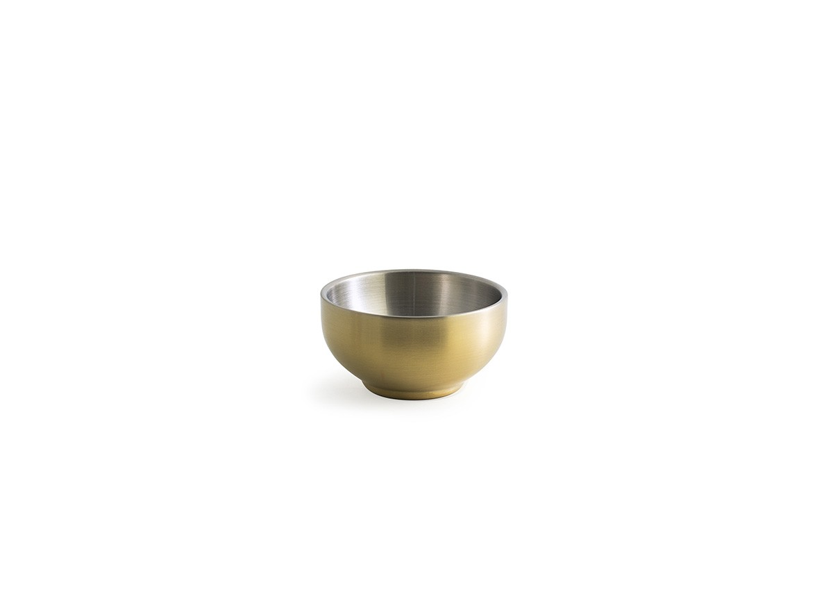 6oz SS Harmony Bowl - Matte Brass