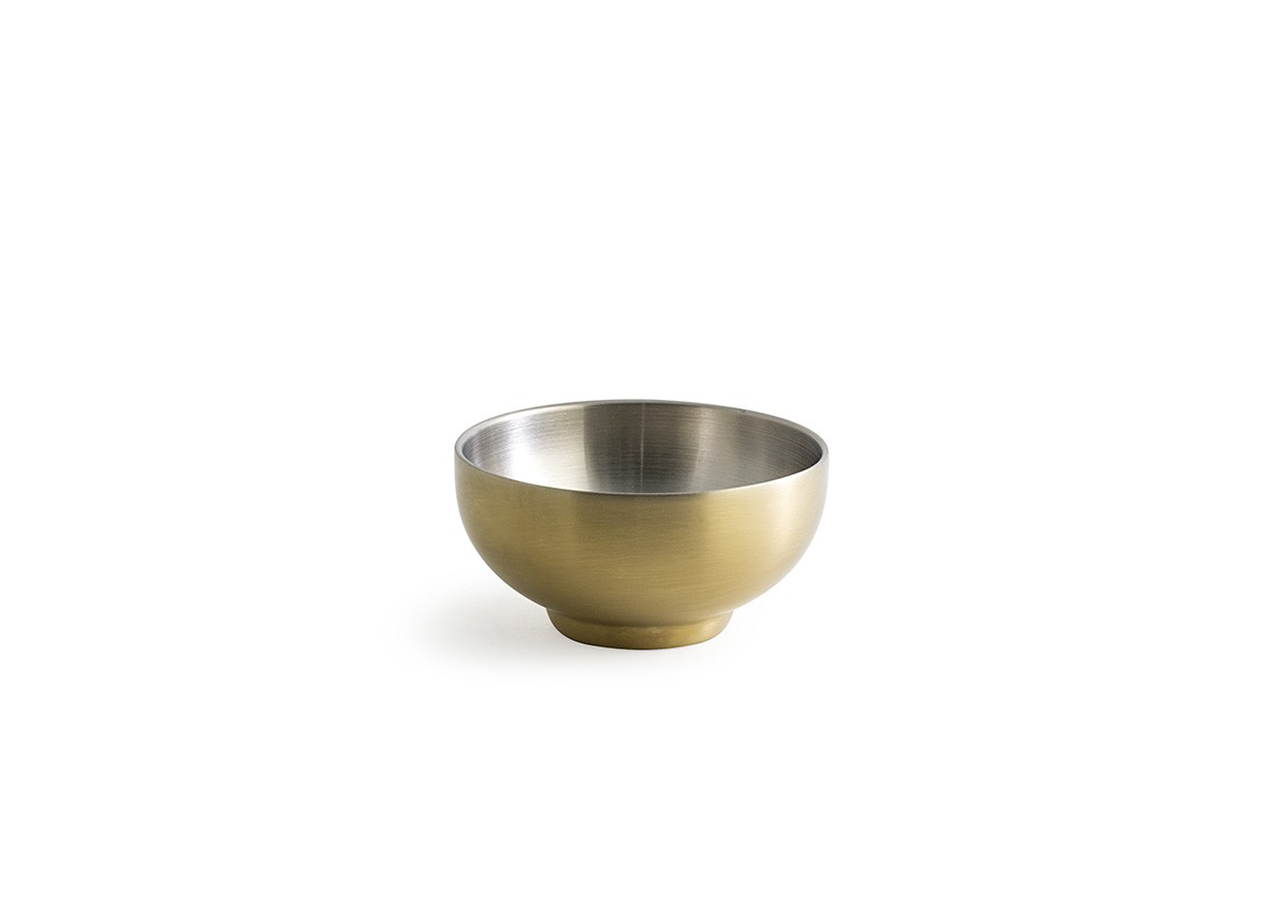 10oz SS Harmony Bowl - Matte Brass