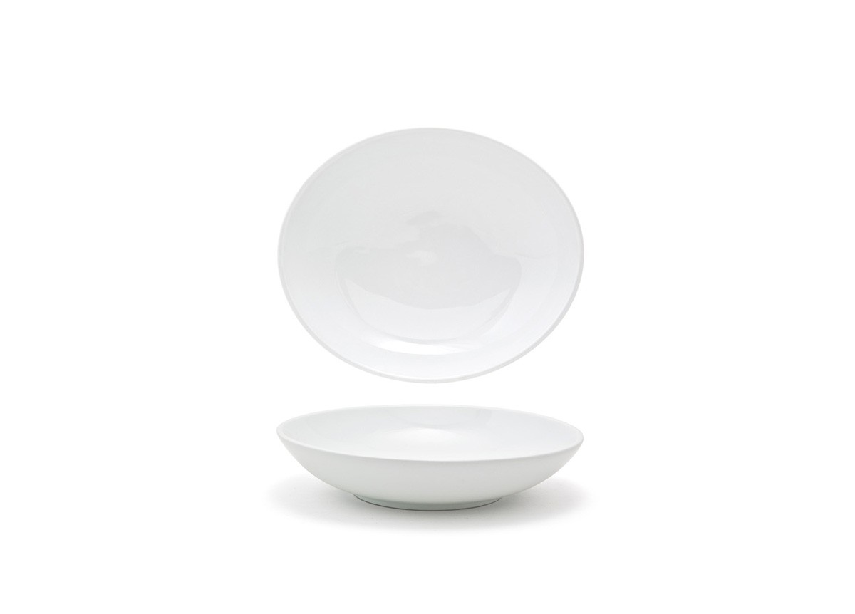 28oz Oval Ellipse Low Bowl