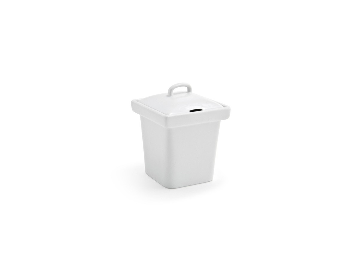4oz Square Mod®  Pot with Notched Lid
