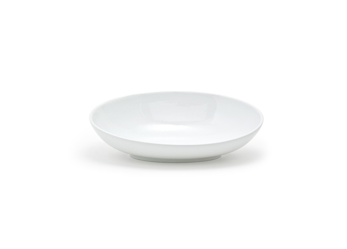"13"" Oval Ellipse™  Slanted Bowl - 36oz"