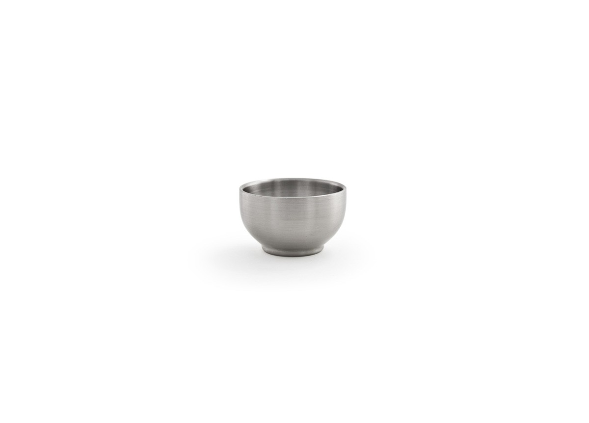 2.5oz Brushed Stainless Harmony Ramekin - Silver