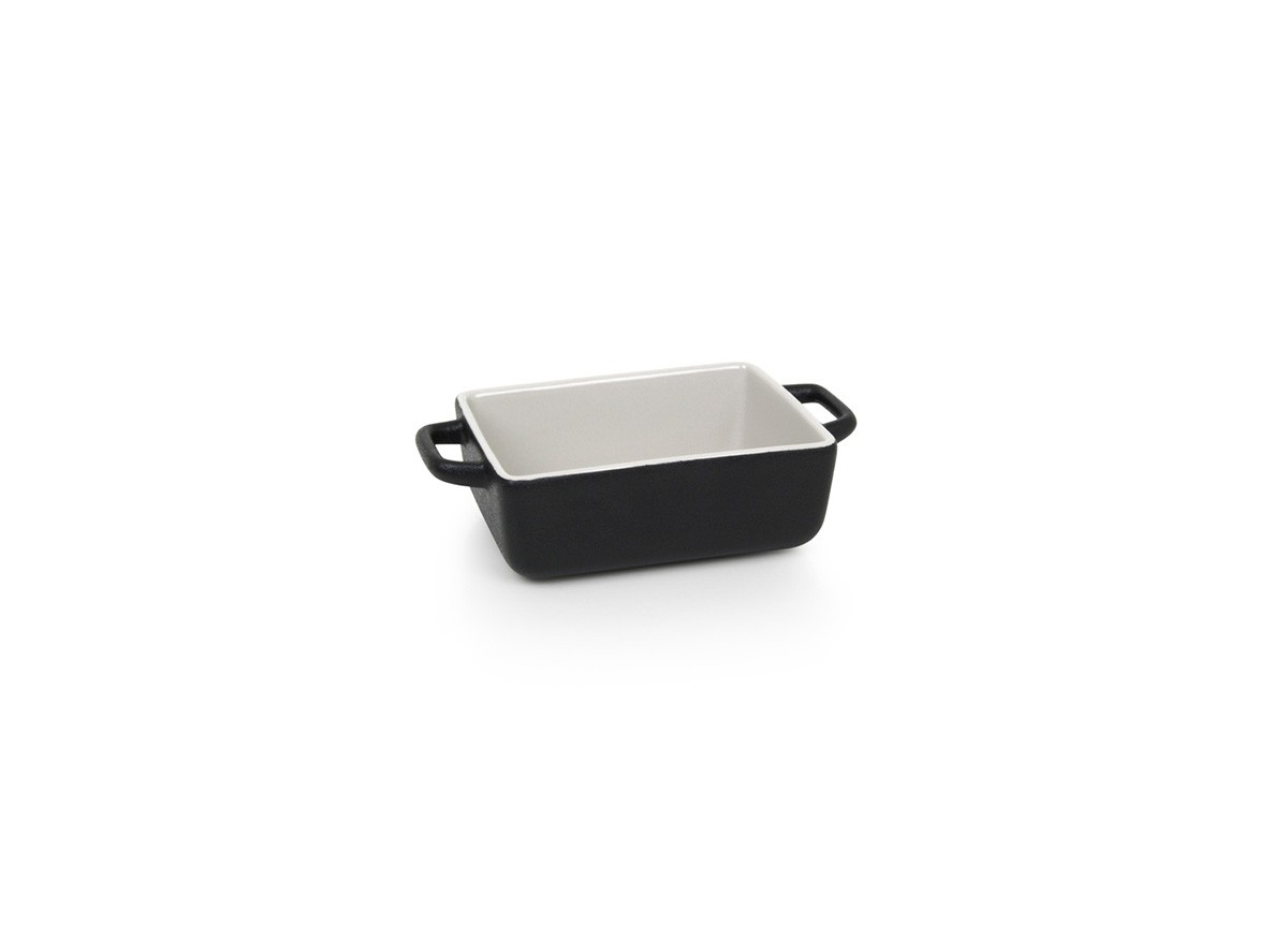 16oz Rectangle Kiln®  Ovenware Dish - Black