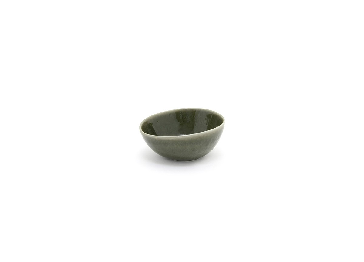 "5"" Round Kiln Bowl - 10oz - Leek"