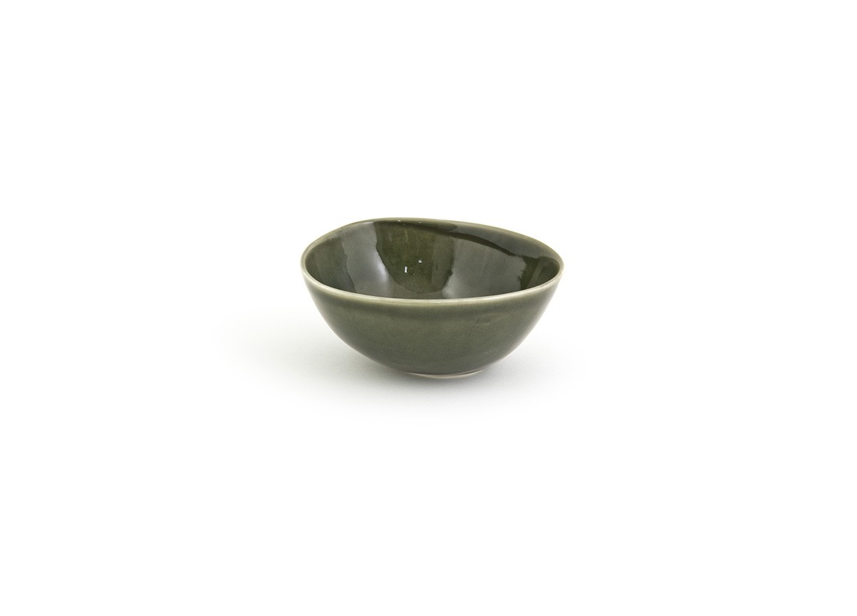 21oz Round Kiln Bowl - Leek