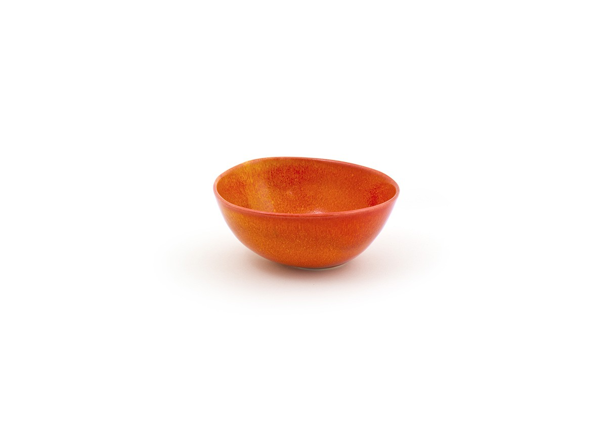 "6"" Round Kiln®  Bowl - 21oz - Blood Orange"