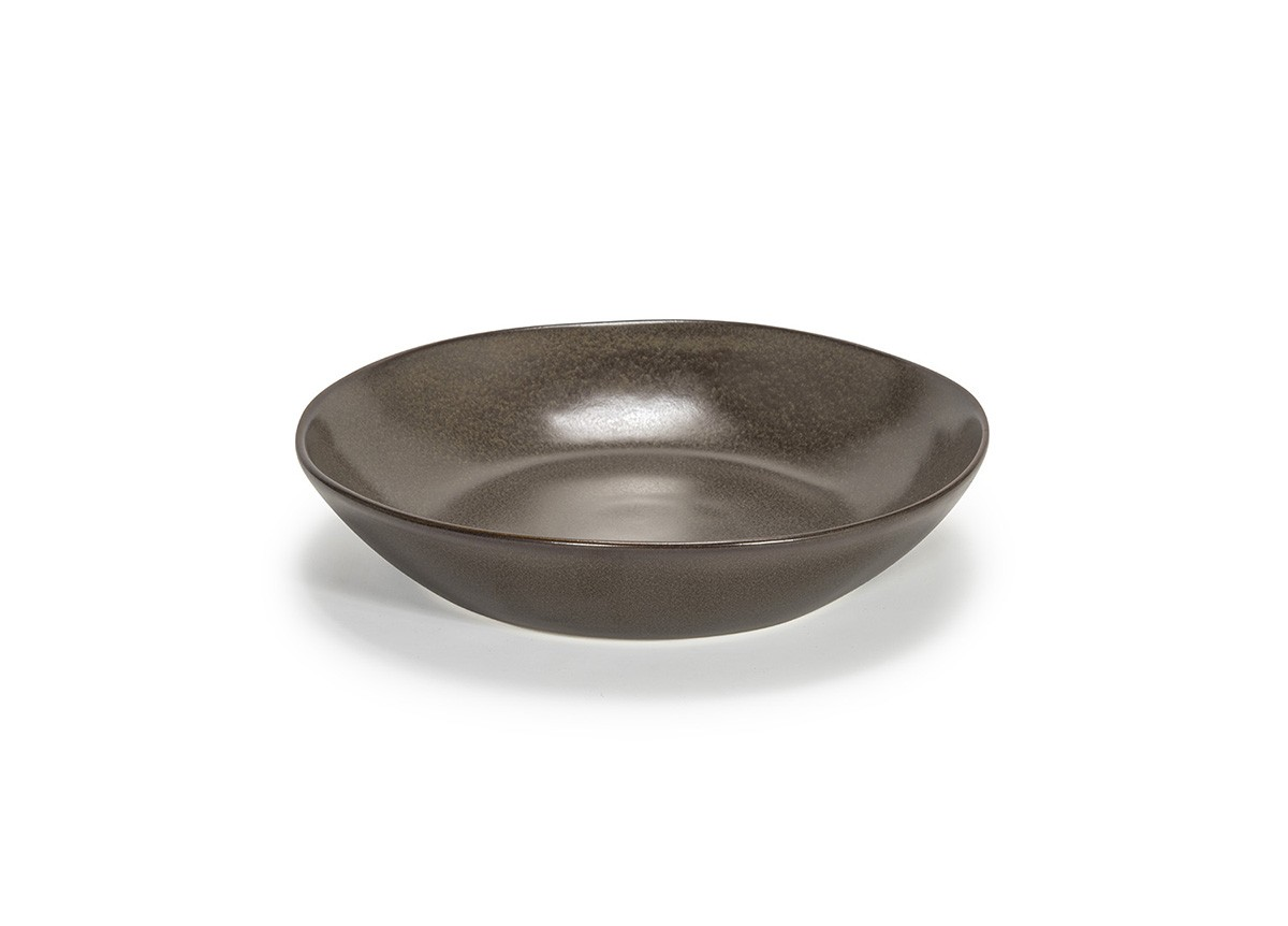 "8.5"" Round Kiln®  Bowl - 34oz - Mocha"