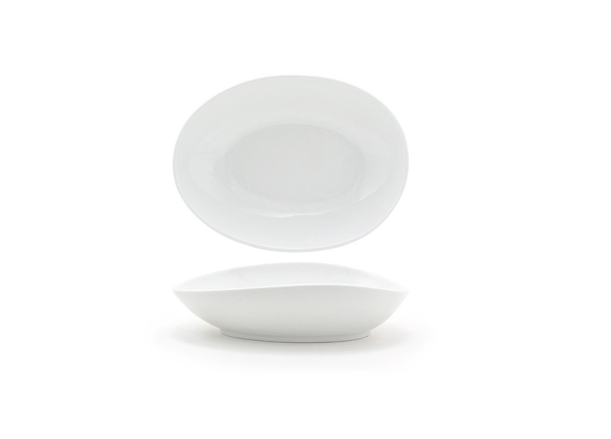 "10"" Oval Tides®  Bowl - 30oz - White"
