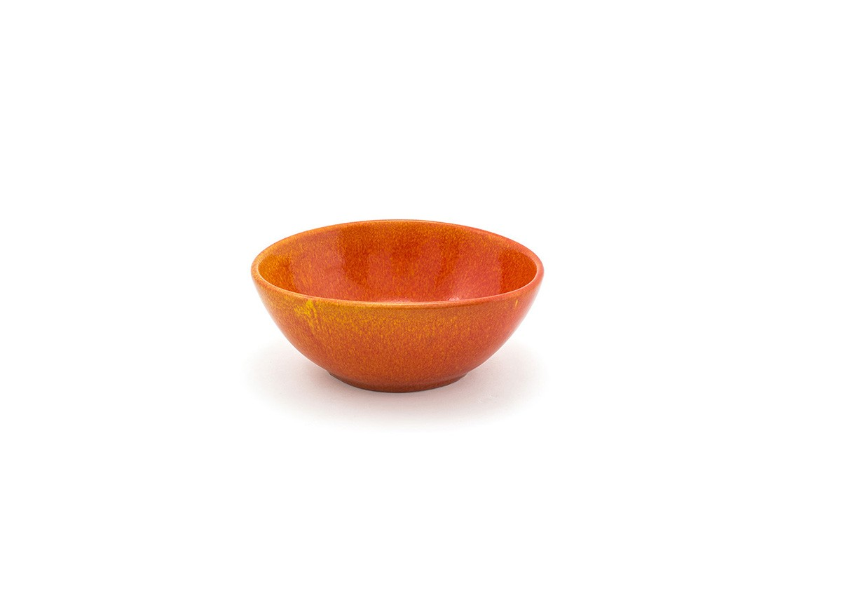 "7"" Oval Kiln®  Bowl - 28oz - Blood Orange"