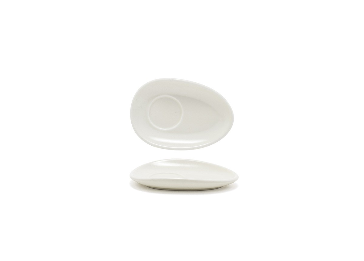 "5"" Oval Tides®  Saucer - Scallop"