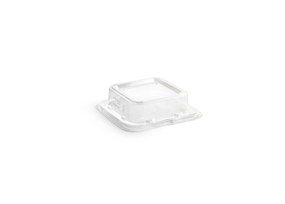 "4.5"" Square Servewise®  Plate Cover"
