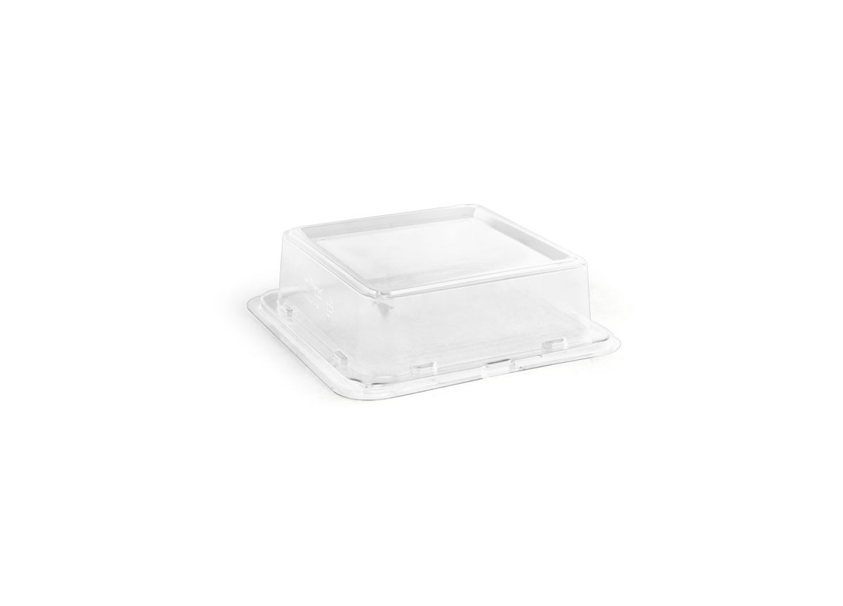 "5.5"" Square Servewise®  Plate Cover"