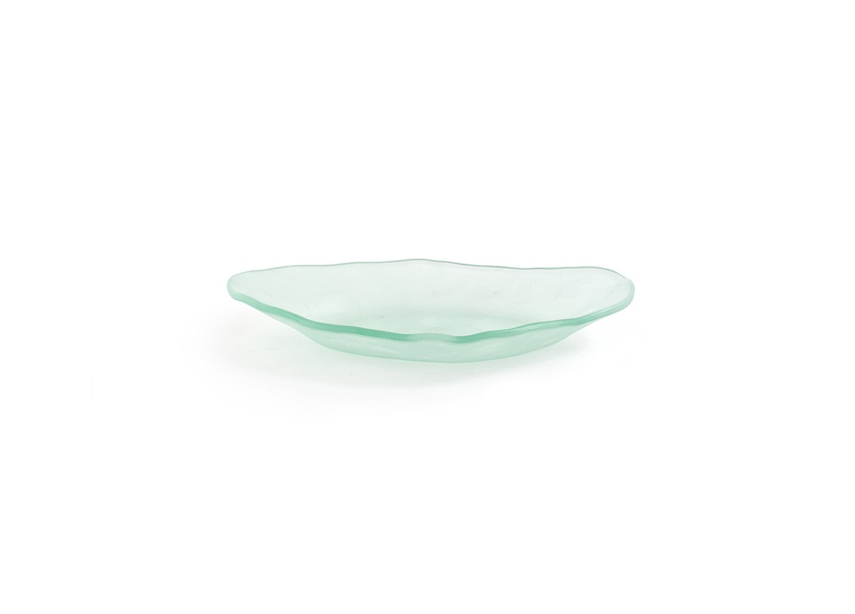 "10.25"" Oval Arctic™  Plate - Frosted"