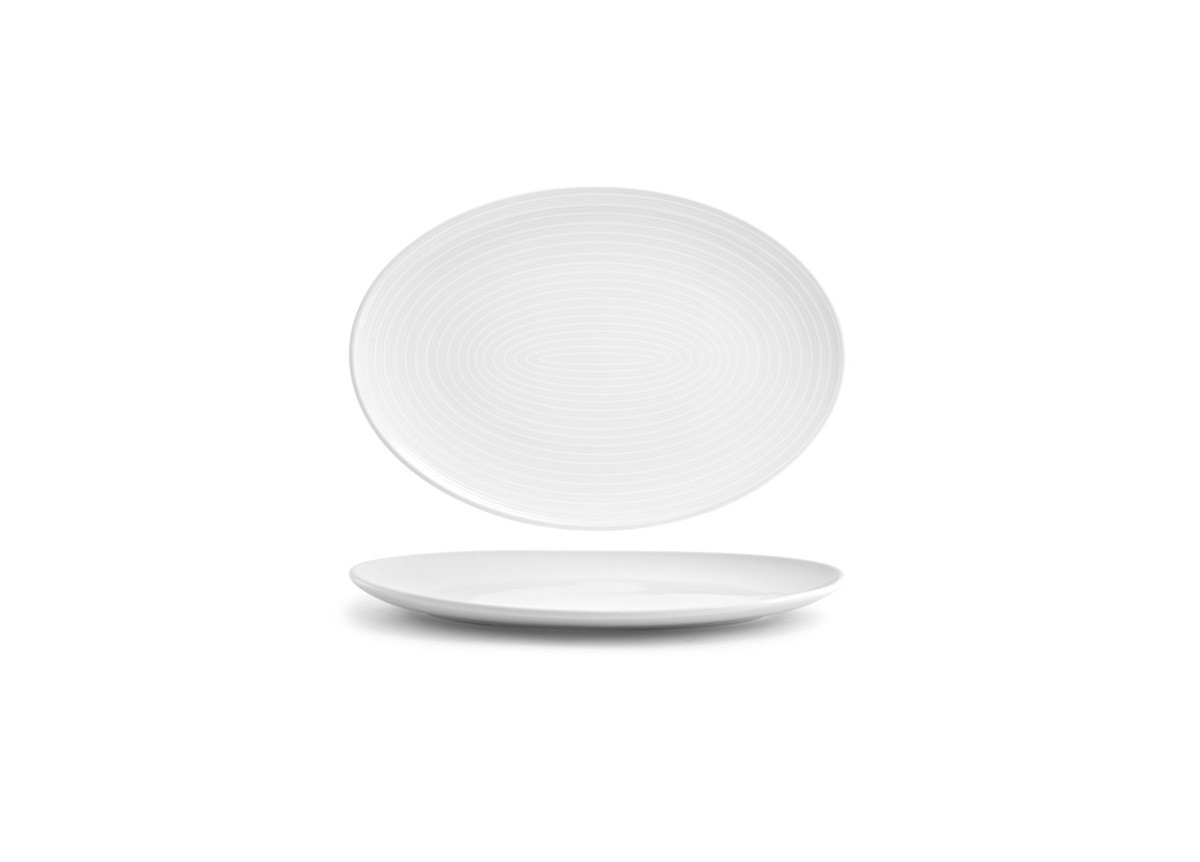 "11.5"" Oval Spiral®  Coupe Plate"