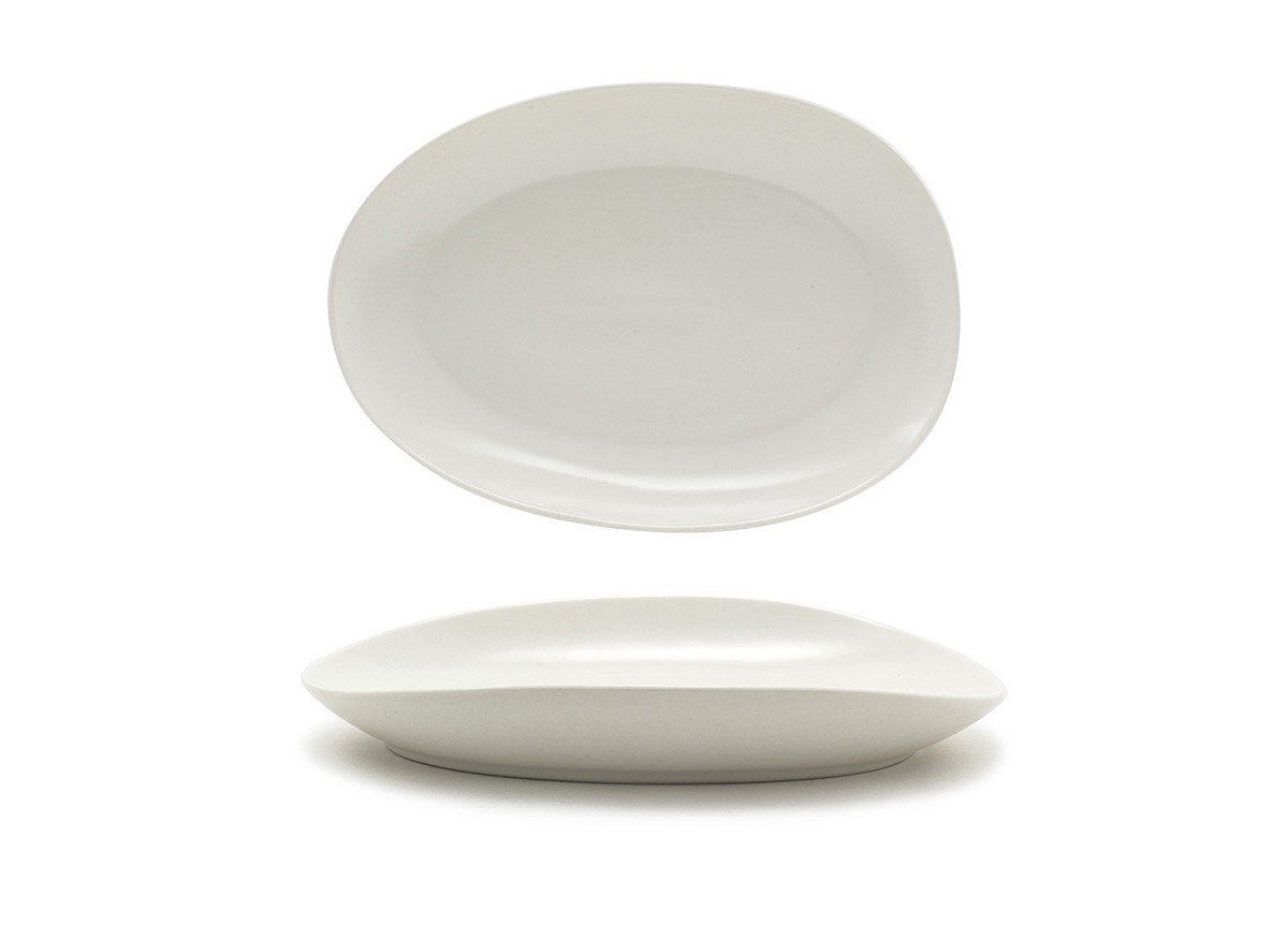 "10"" Oval Tides®  Plate - Scallop"