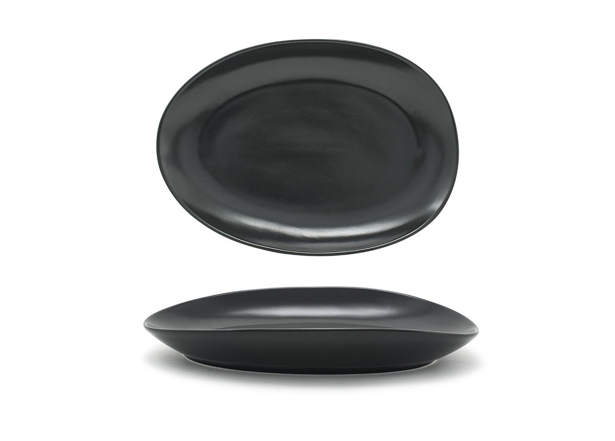 "10"" Oval Tides®  Plate - Mussel"