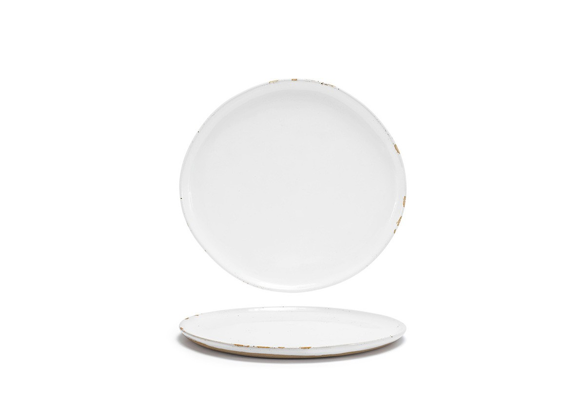 "11"" Round Artefact™ Plate - White"
