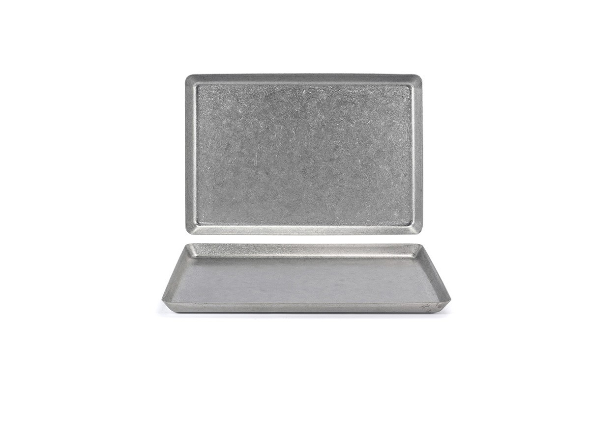 """13"""" x 7"""" Stainless Mod®  Plate - Antique"""
