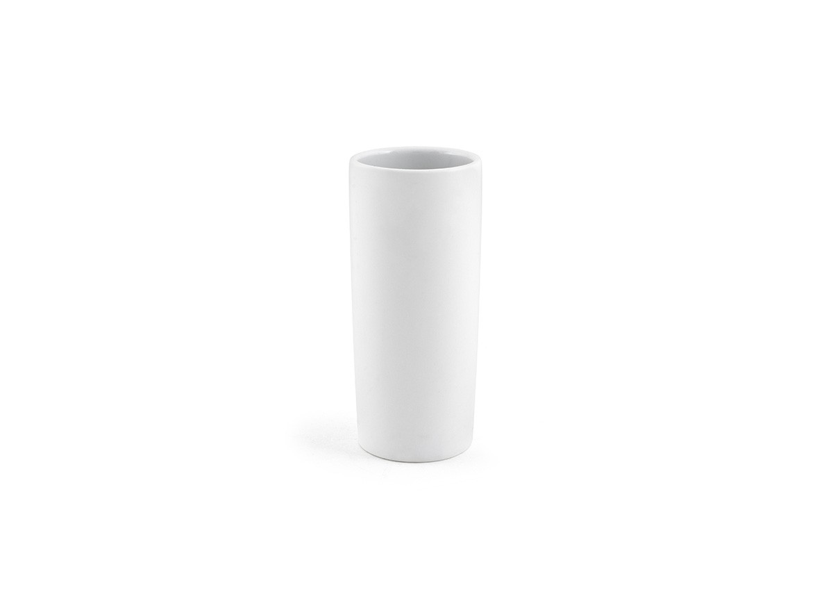 9.5oz Tall Porcelain Cup