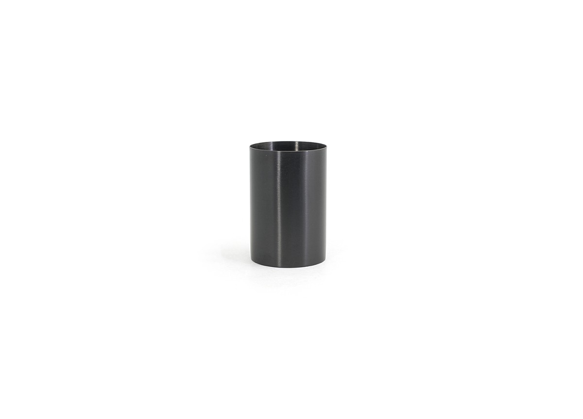 10oz Round Stainless Holder - Matte Black