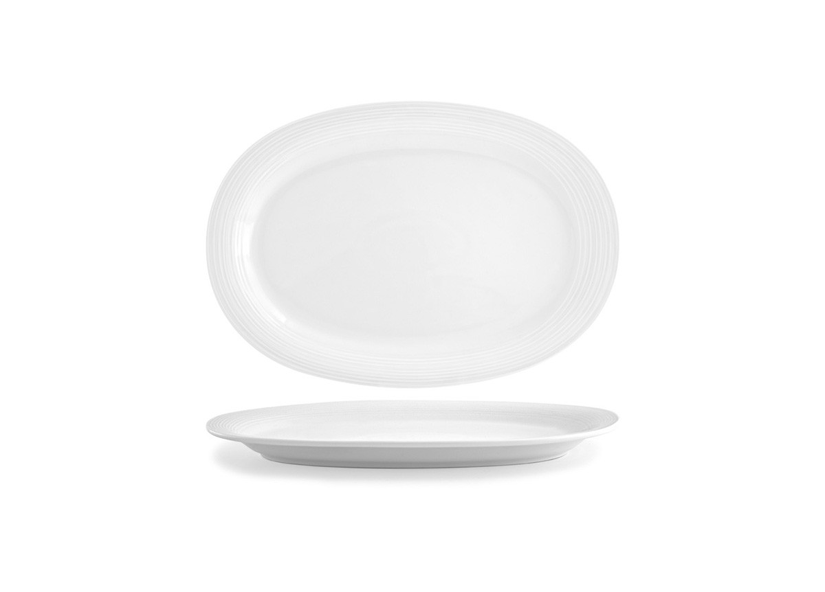 "14"" Oval Spiral®  Plate"