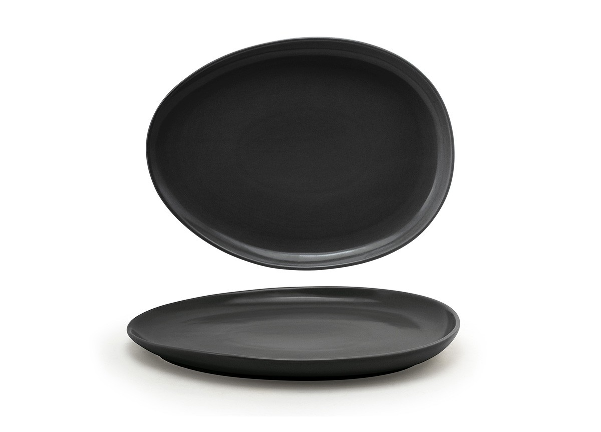 "13"" Tides Low Plate - Mussel"