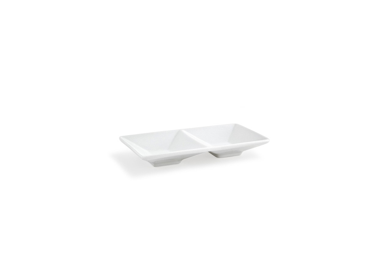 "6"" x 3"" Kyoto™  Divided Dish - 2oz"