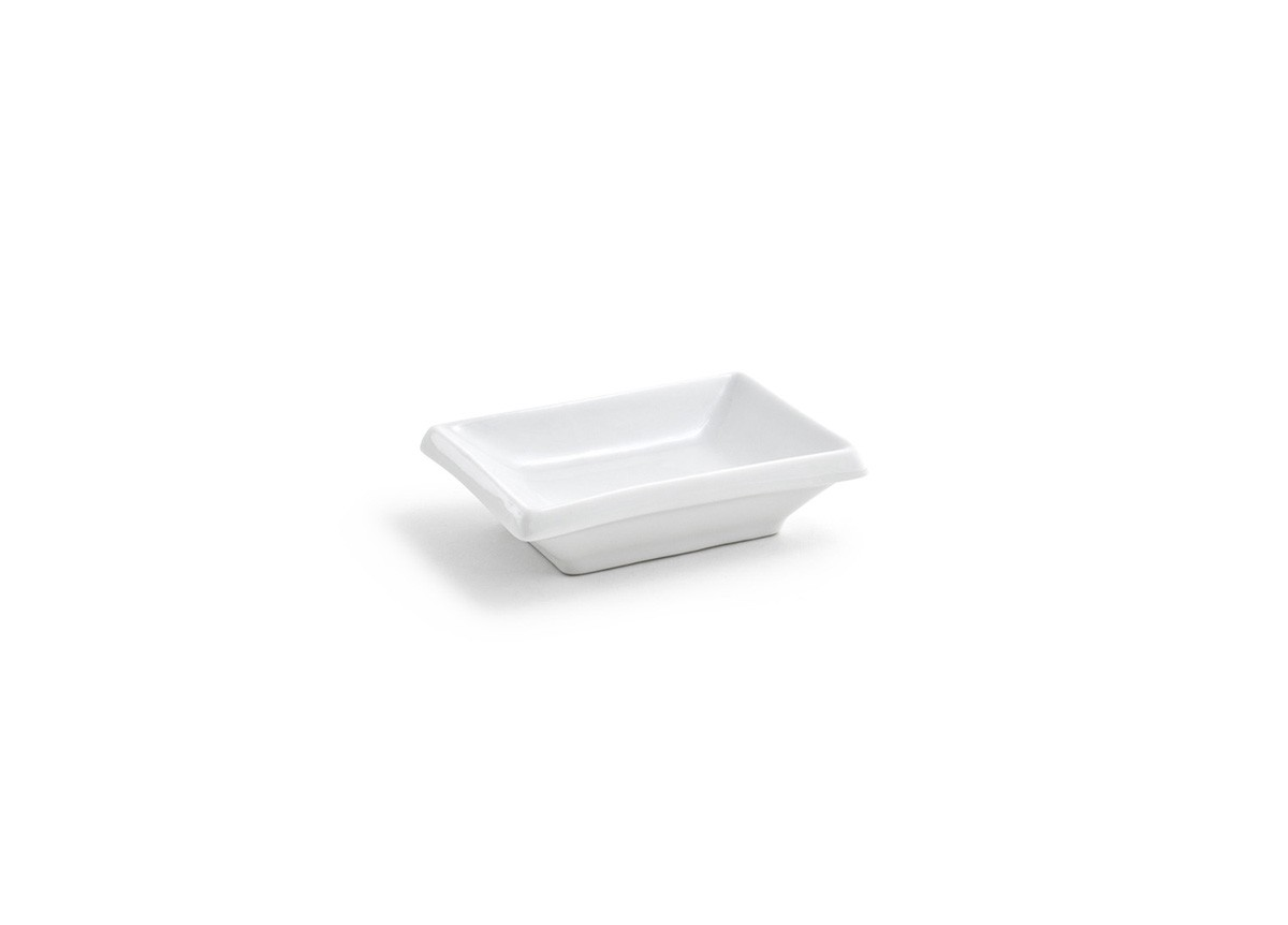 Rectangle Dish - White