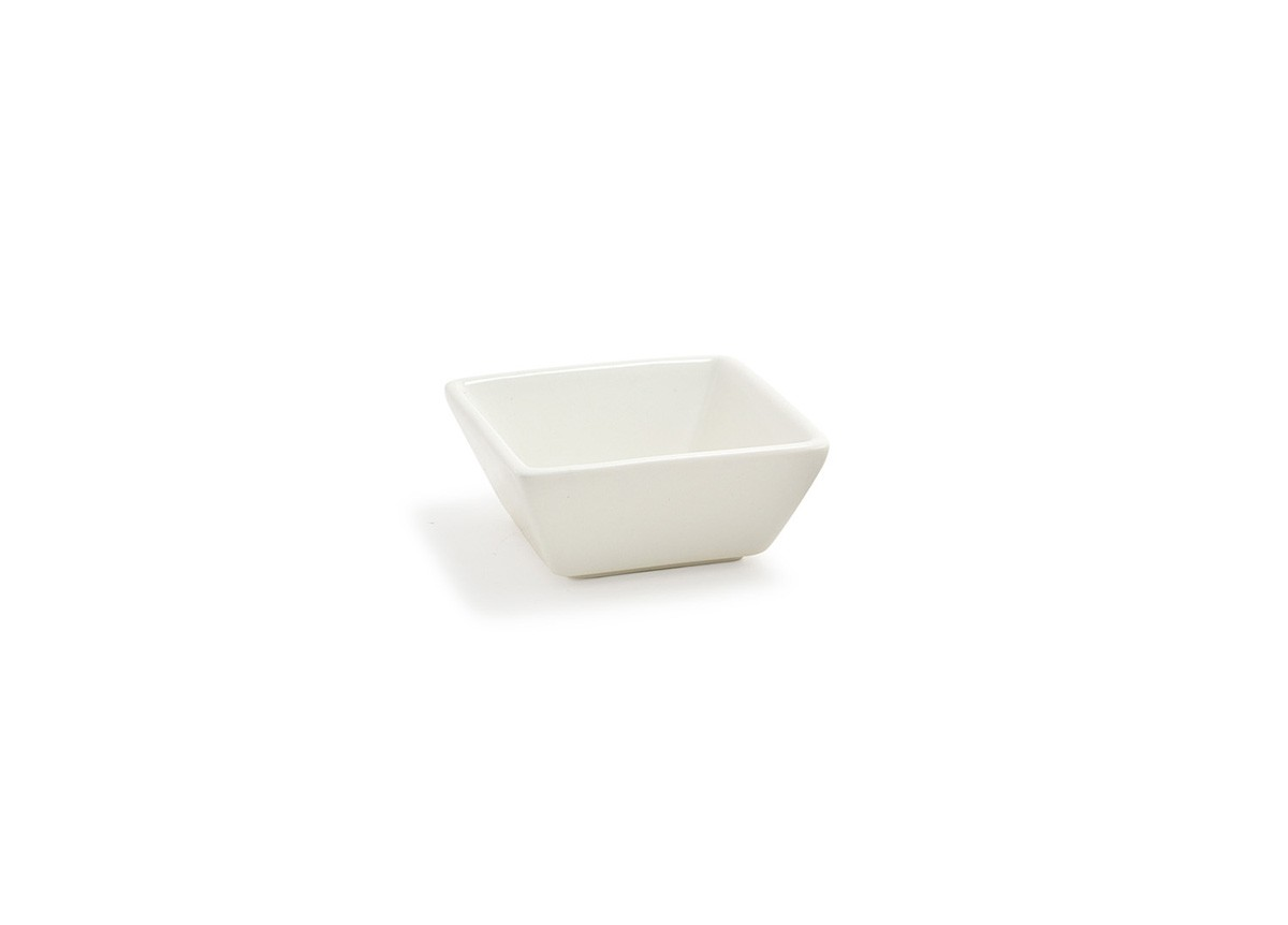 "3.25"" Tall Square Catalyst Kyoto Dish - 4oz"