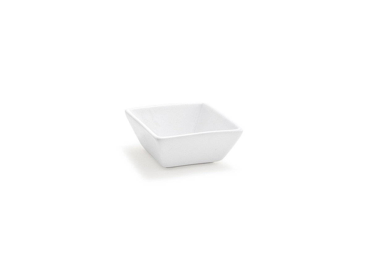 "3.25""  Tall Square Kyoto Dish - 4oz"