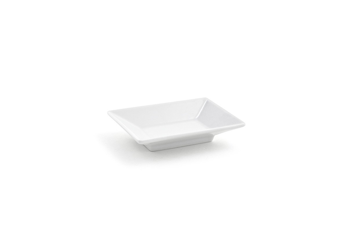 "4.25"" x 3"" Kyoto Footed Dish - 2oz"