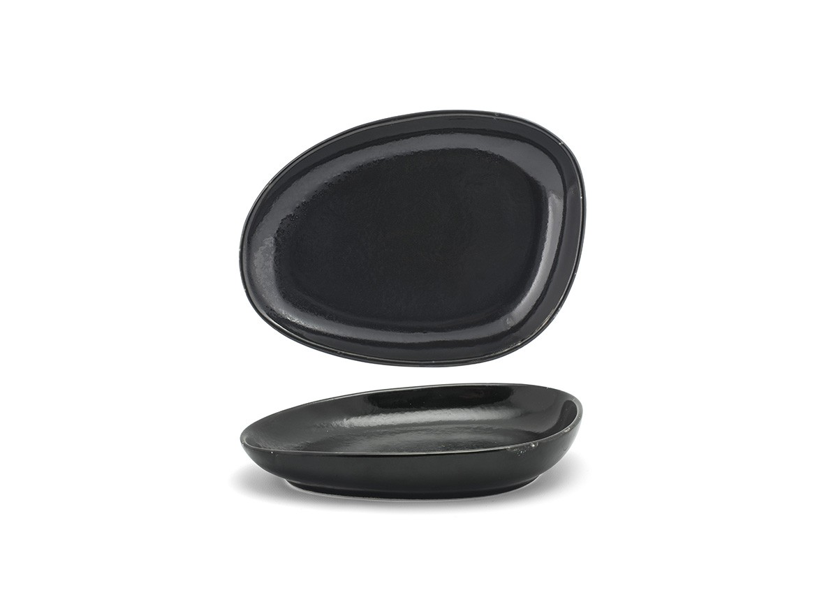 "8"" Oval Kiln®  Plate - Pepper"