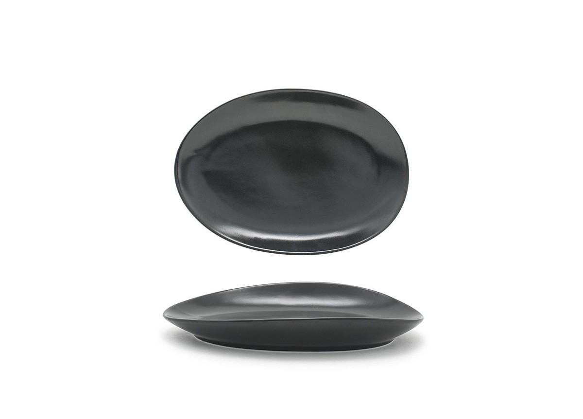 "8"" Oval Tides®  Plate - Mussel"