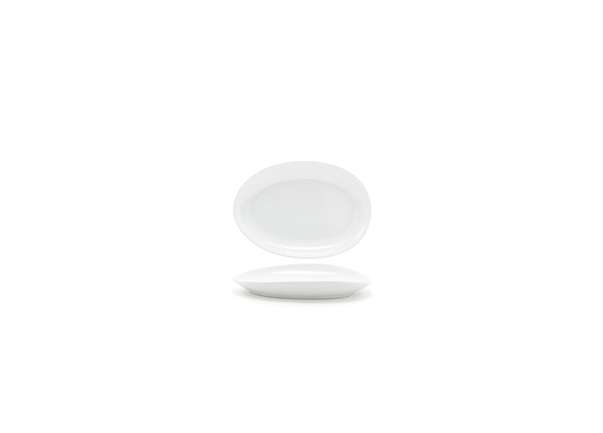 "8"" Oval Tides®  Plate - White"