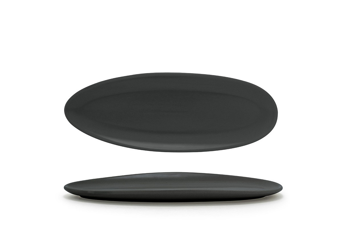 "11.5"" Slim Oval Tides®  Plate - Mussel"
