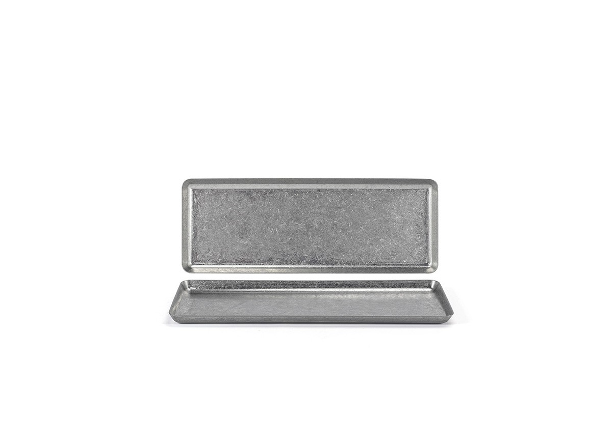 "11.5"" x 4.25"" Stainless Mod®  Plate - Antique"