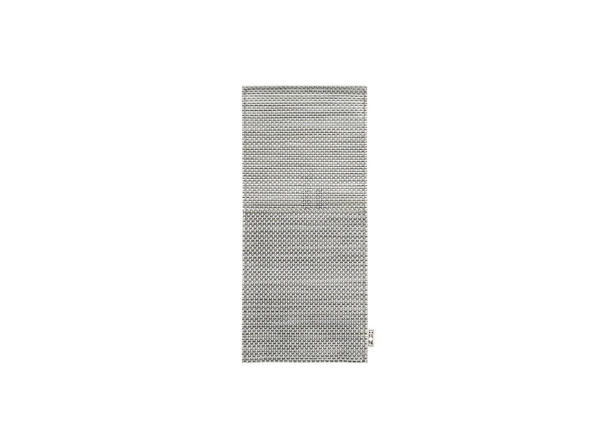 "10"" x 4.5"" Metroweave Pocket - Mesh Grey"