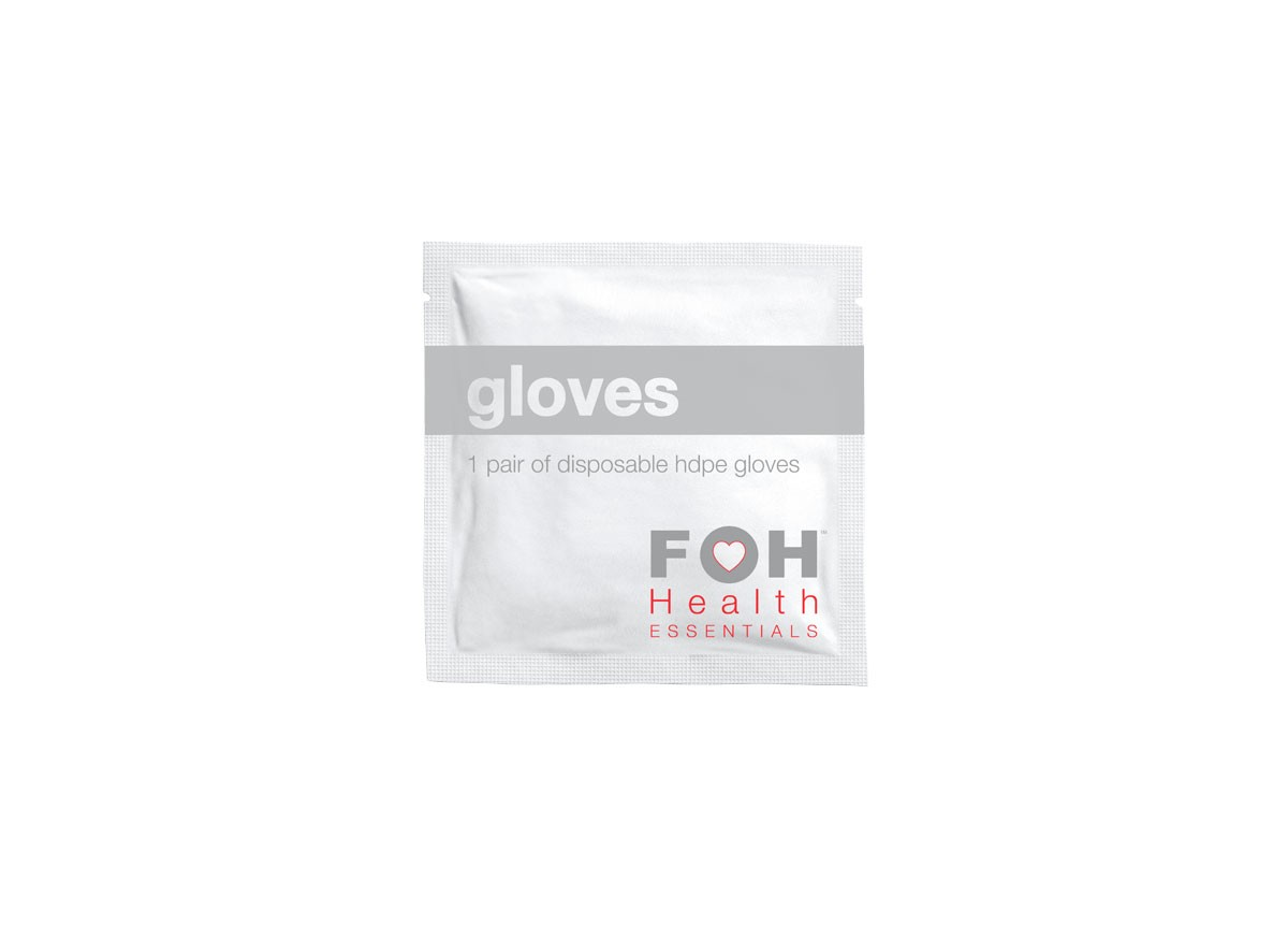 HDPE Glove Packet - Pair - Box of 200