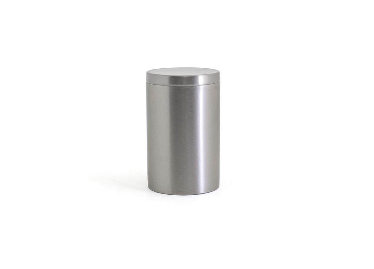 SS Jar with Lid - Silver with SIlver Lid
