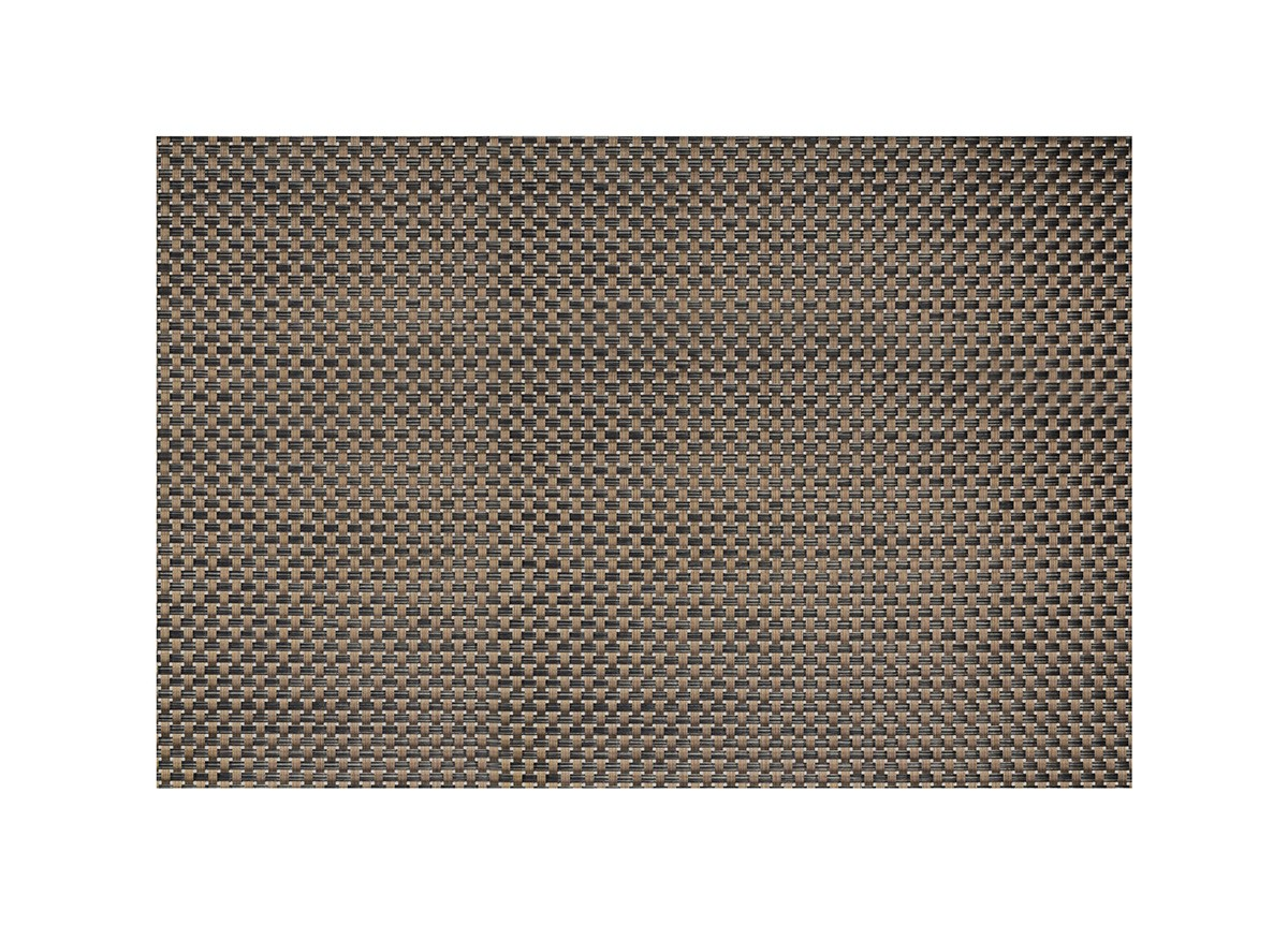"24"" x 16.25"" Metroweave Large Basketweave Mat - Copper"