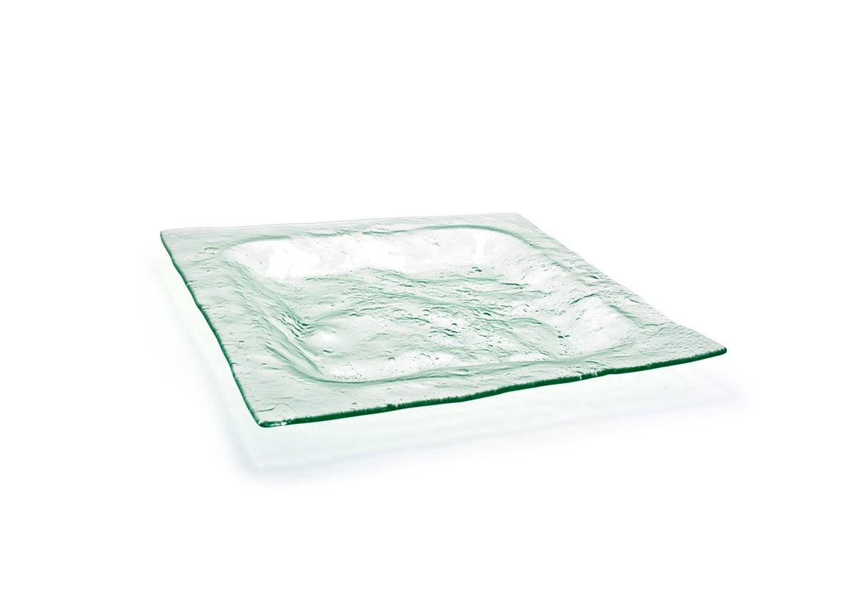 "16"" Square Arctic Plate - Clear"